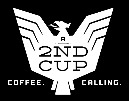 A 2nd Cup White Logo